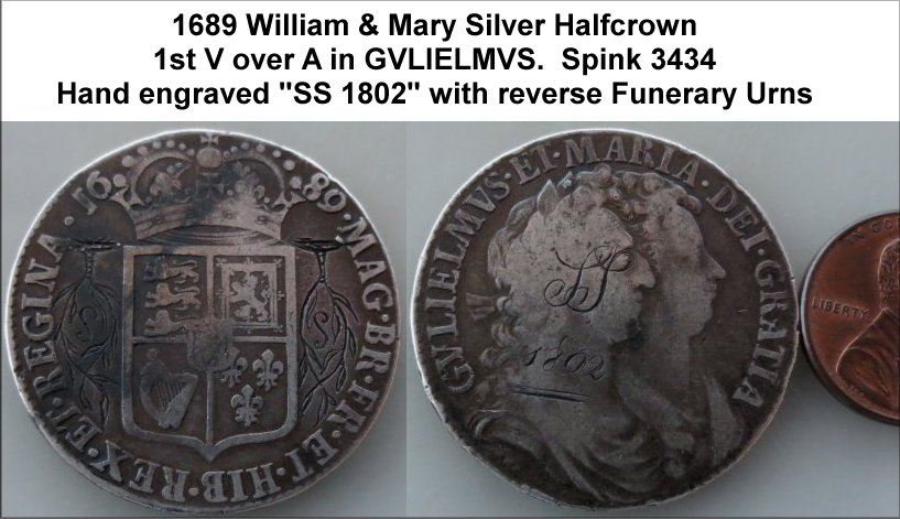 William & Mary (1688 - 94) Read about Mary II